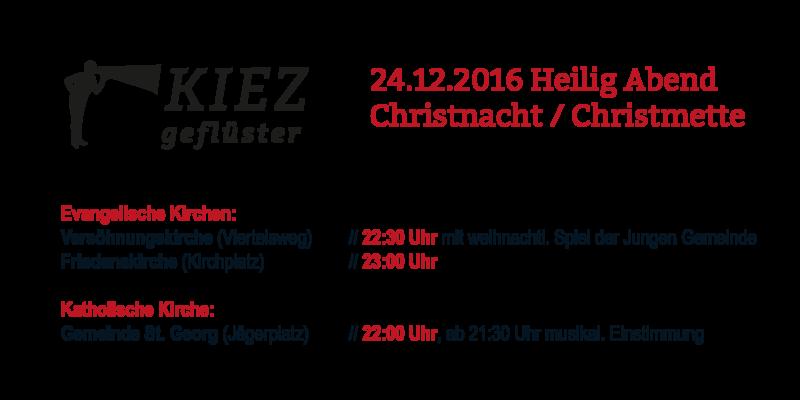 Krippenspiel und Christvesper in Leipzig-Gohlis 2016