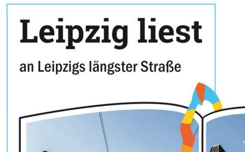 Leipzig liest an Leipzigs längster Straße