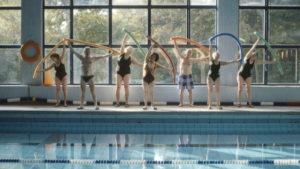 Trockenschwimmen, Dokumentarfilm / Quelle: Kasten/Weber